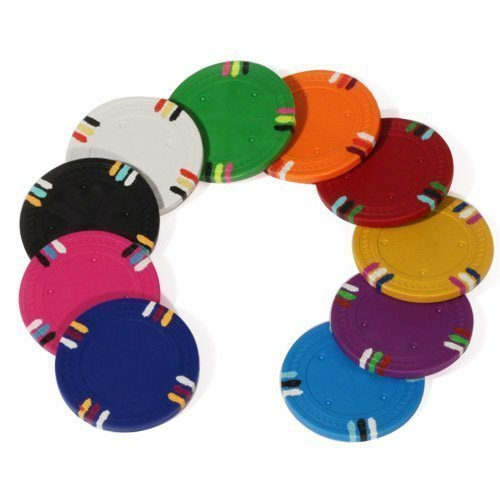12 Stripe Custom Poker Chips