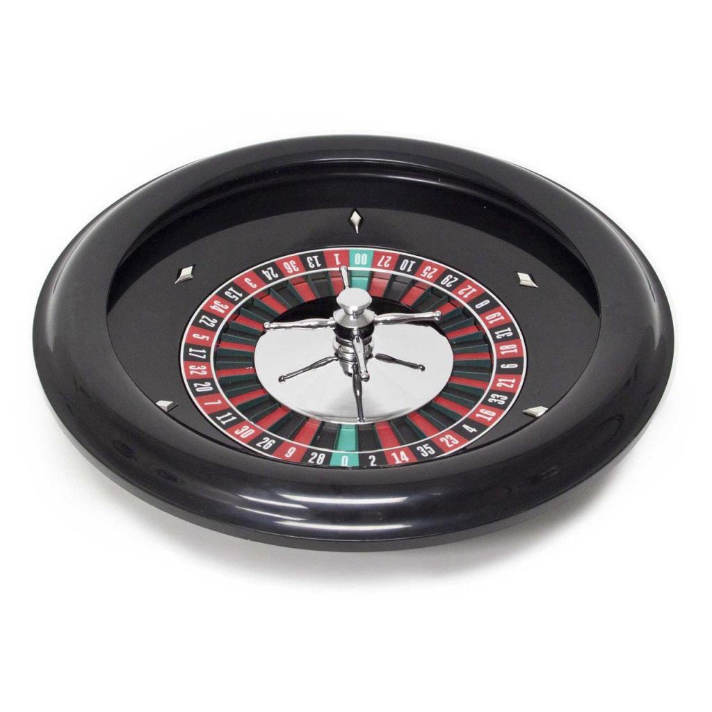 18 Inch Plastic Roulette Wheel