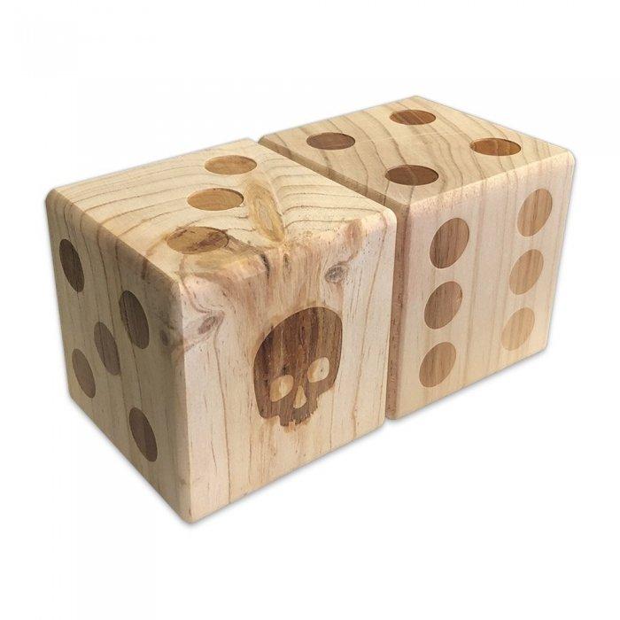 2 Wood Dice