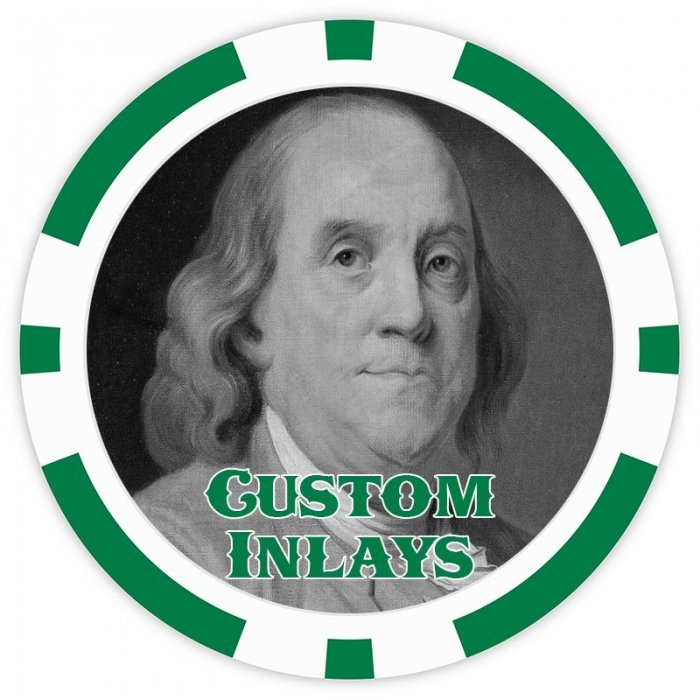 8 Stripe Custom Poker Chip