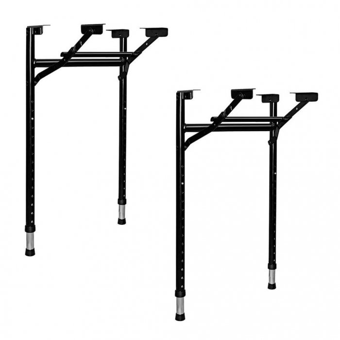 Adjustable Folding Table Legs Narrow
