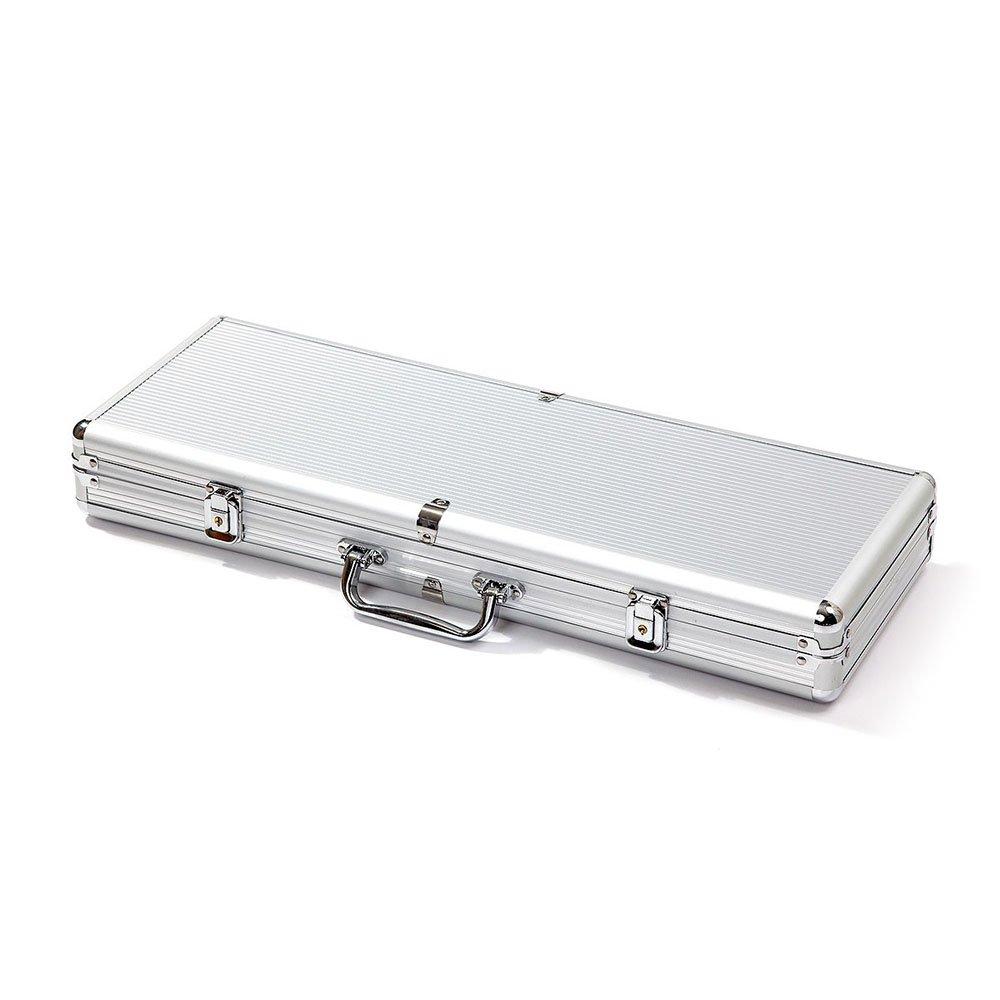 Aluminum poker chip case 500