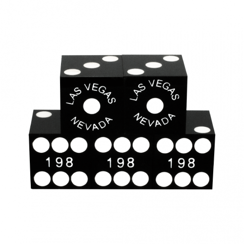 Black Casino Dice