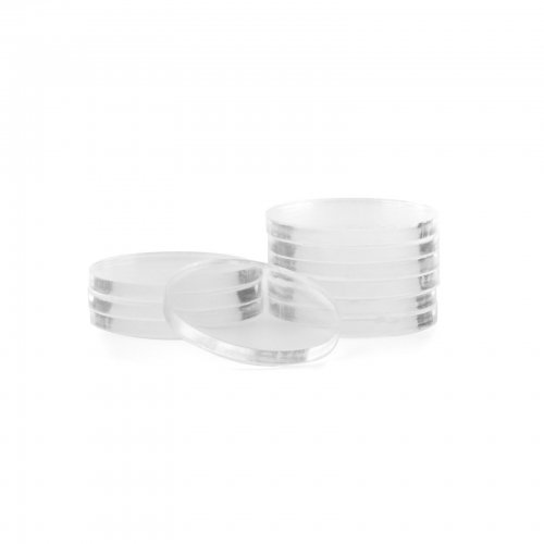 Clear Poker Chip Spacers