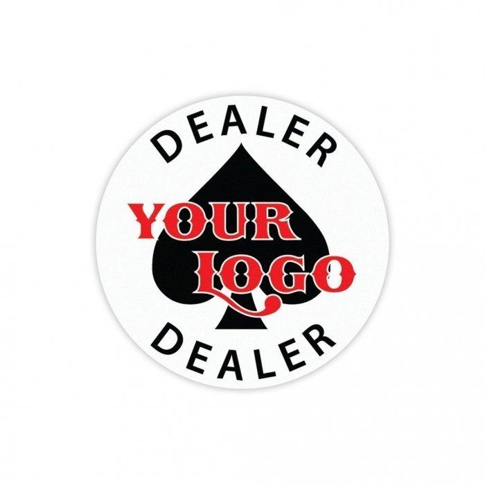 Custom Dealer Button