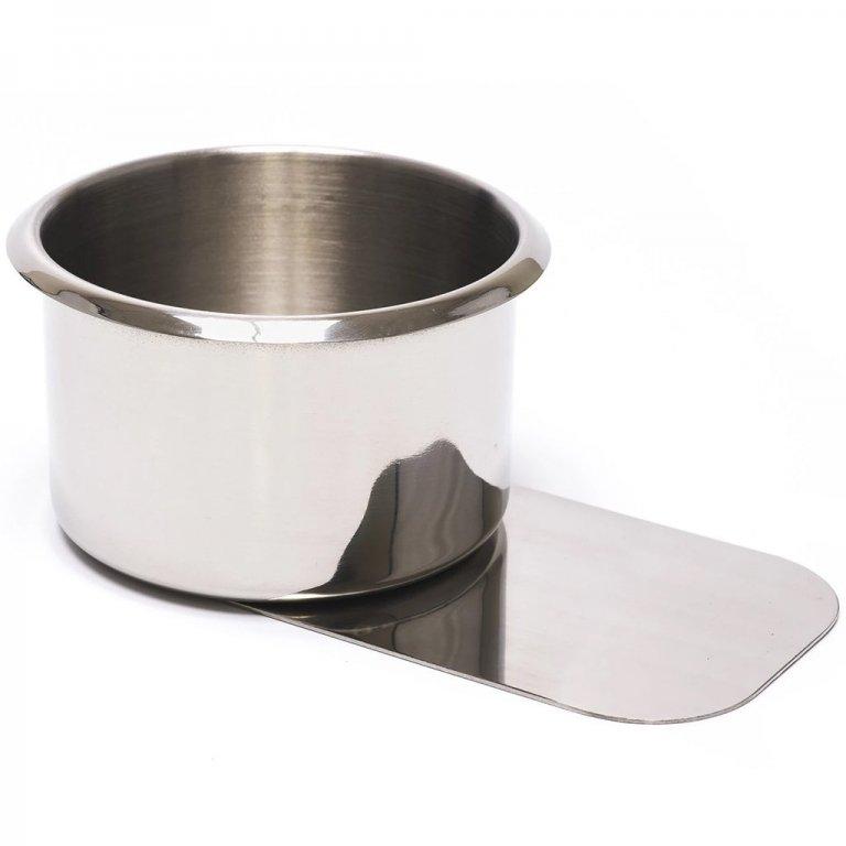 Jumbo Stainless Steel Slide Under Cup Holder