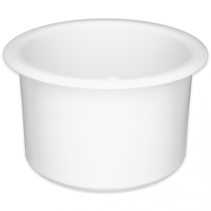 Jumbo White Plastic Cup Holder