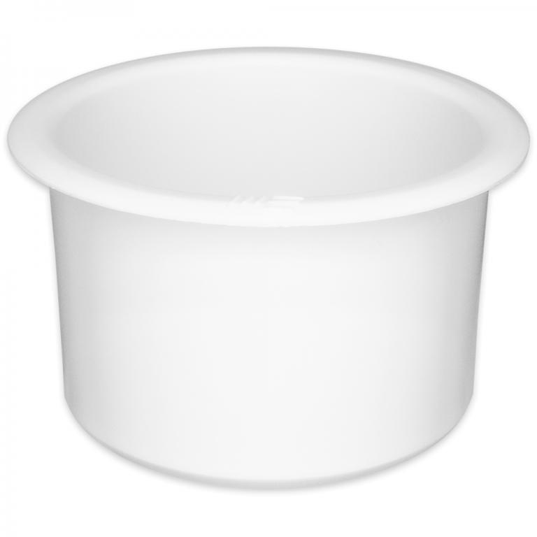 Jumbo White Plastic Cup Holder