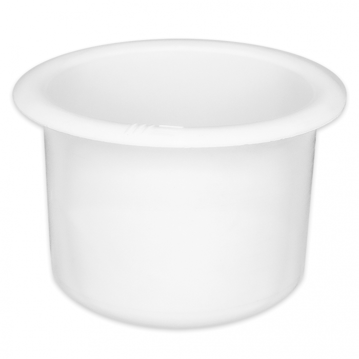 Large White Plastic Cup Holder