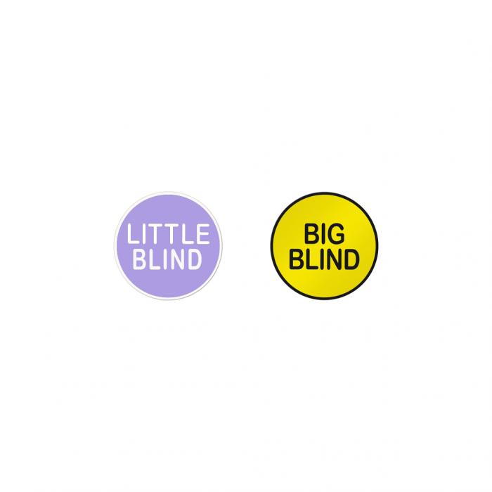 Little Blind Big Blind Buttons