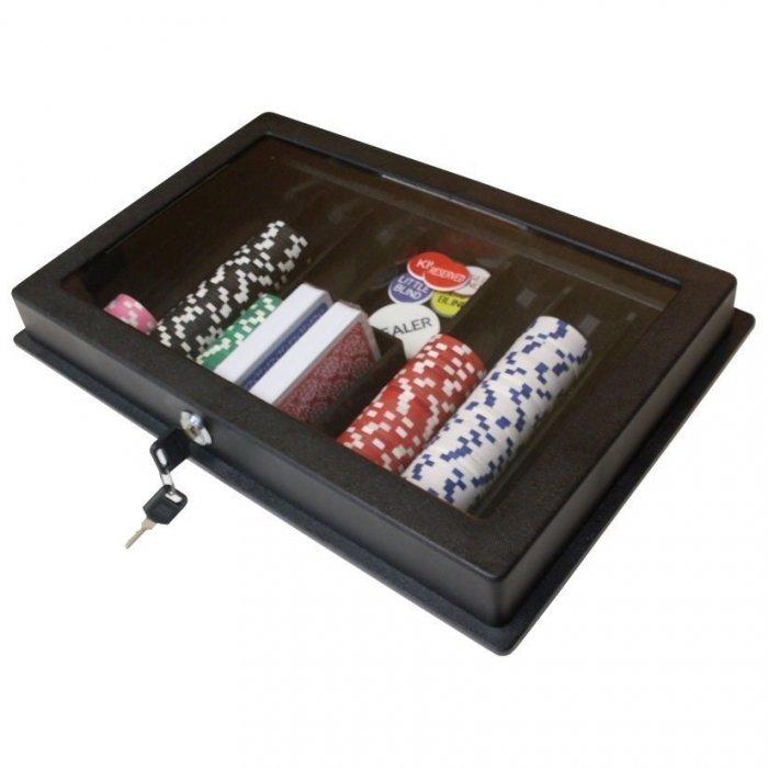 Locking Poker Chip Tray
