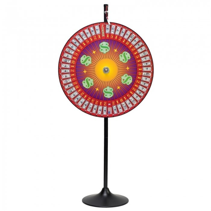 Money Prize Wheel