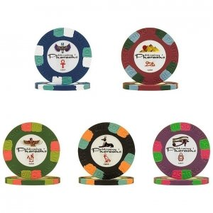 Paulson Pharaoh NCV Poker Chips