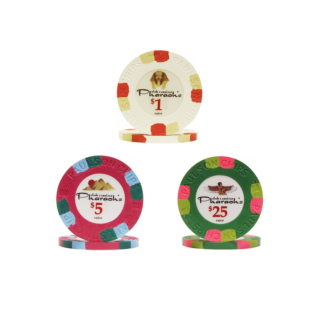 Paulson Pharaoh Poker Chips