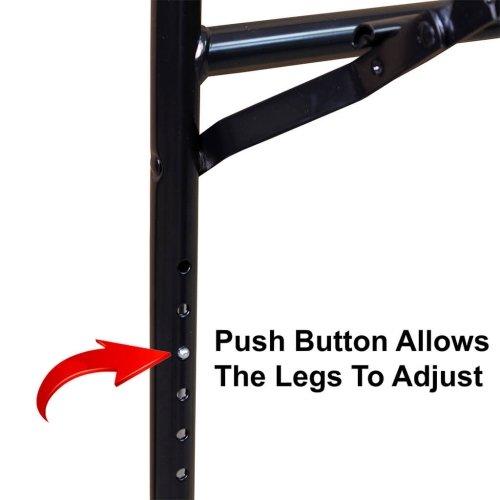 Push Button Adjustable Table Legs