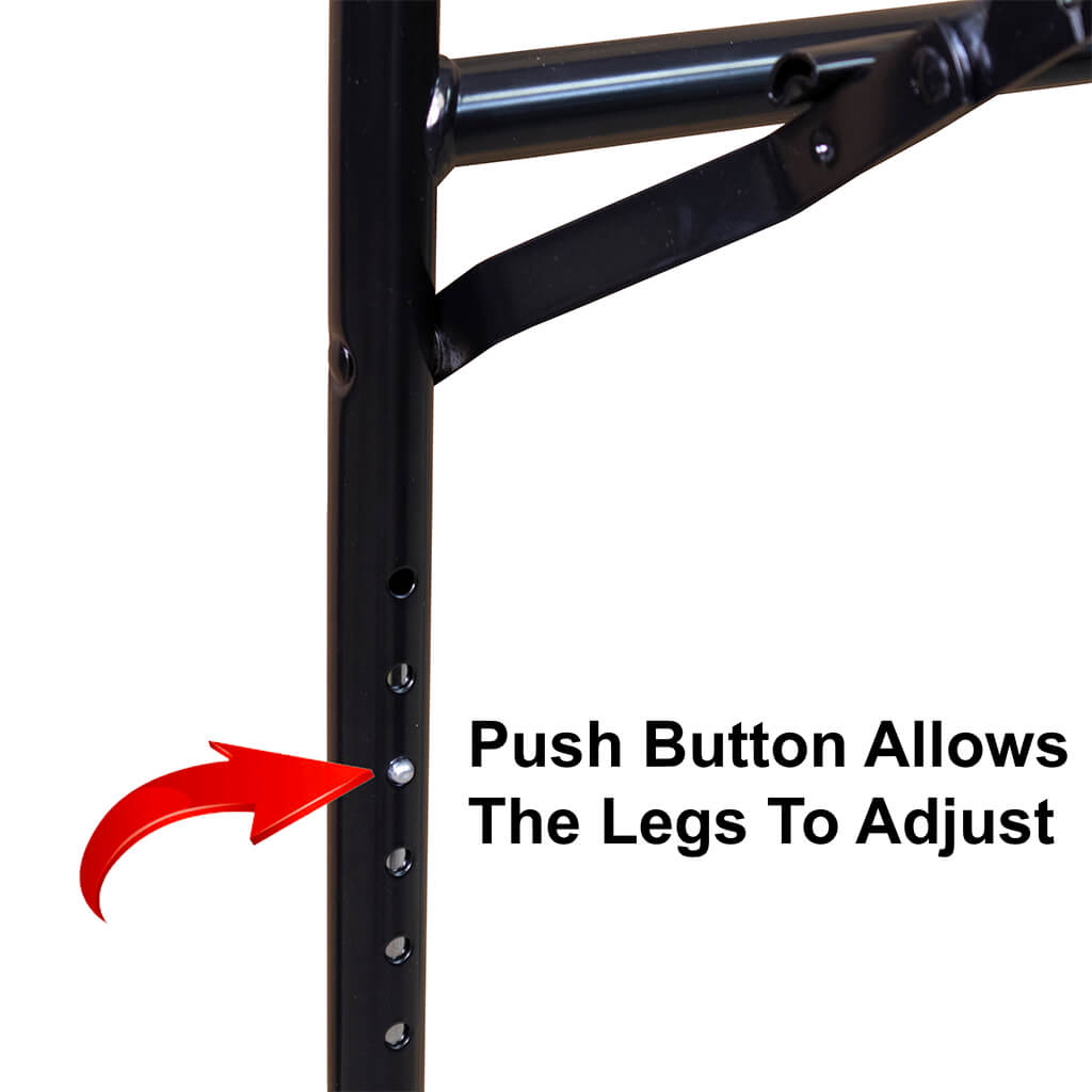 Push Button Adjustable Table Legs