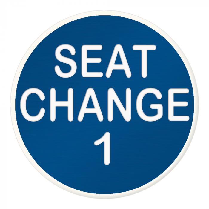 Seat Change 1 Button