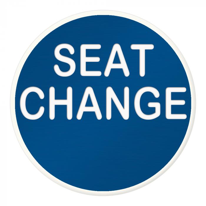 Seat Change Button