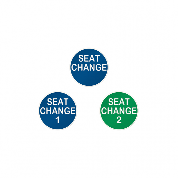 Seat Change Buttons