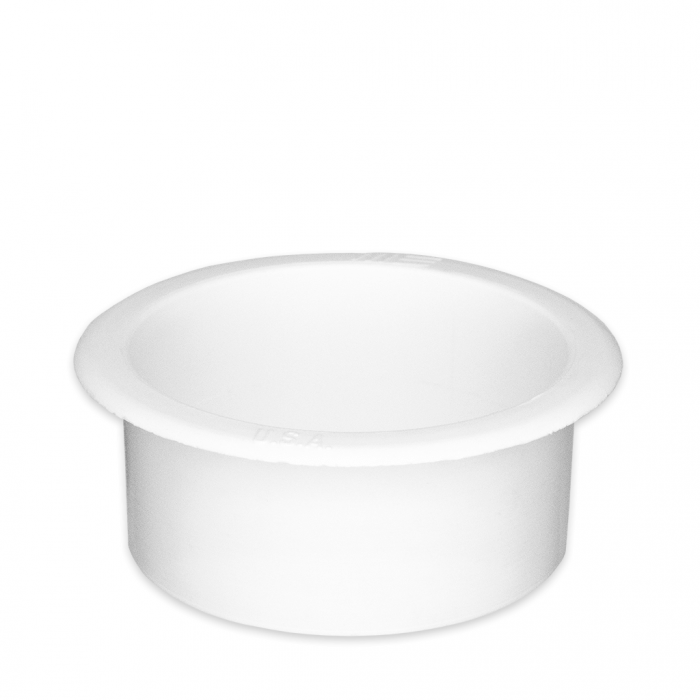 Small White Plastic Cup Holder