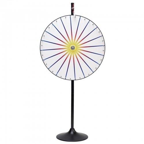 White Prize Wheel