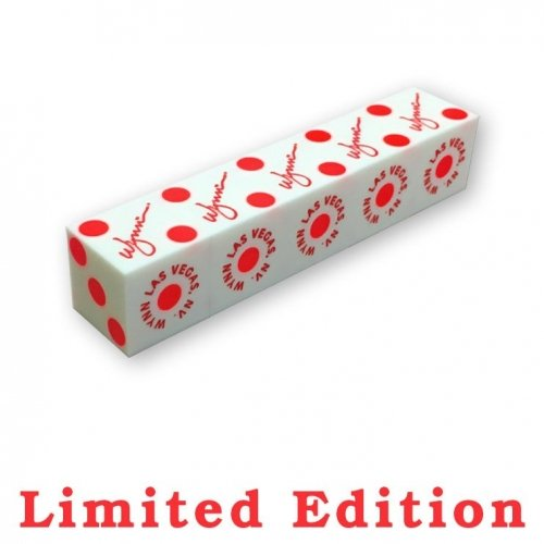 Wynn Casino Limited Edition Red Pips Dice