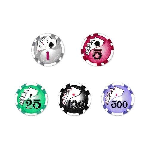 Yin Yang Poker Chips